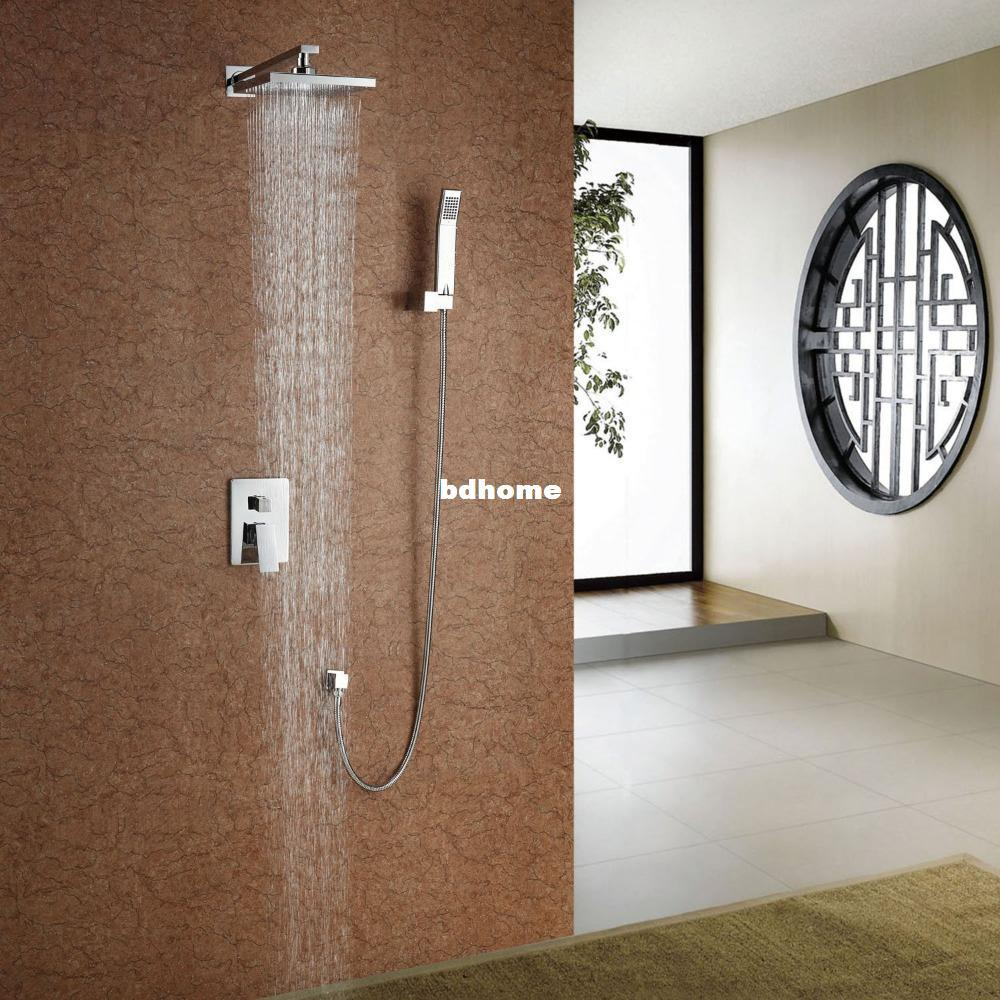 2018 Fast Delivery High Quality Bathroom Concealed Inwall Rainfall ...