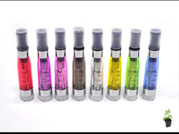 Wholesale Ce4 Atomizer Changeable Coil Ego - ego Atomizer CE4+ CE4 plus Atomizer Clearomizer with Changeable Core Coil for ego electronic cigarette Kits E Cigarette Various Colors DHL