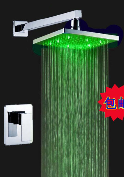 top popular Free Shipping chuveiros chuveiro led torneiras torneira led Bathroom Shower Faucet Shower Set Faucet Tap 2021