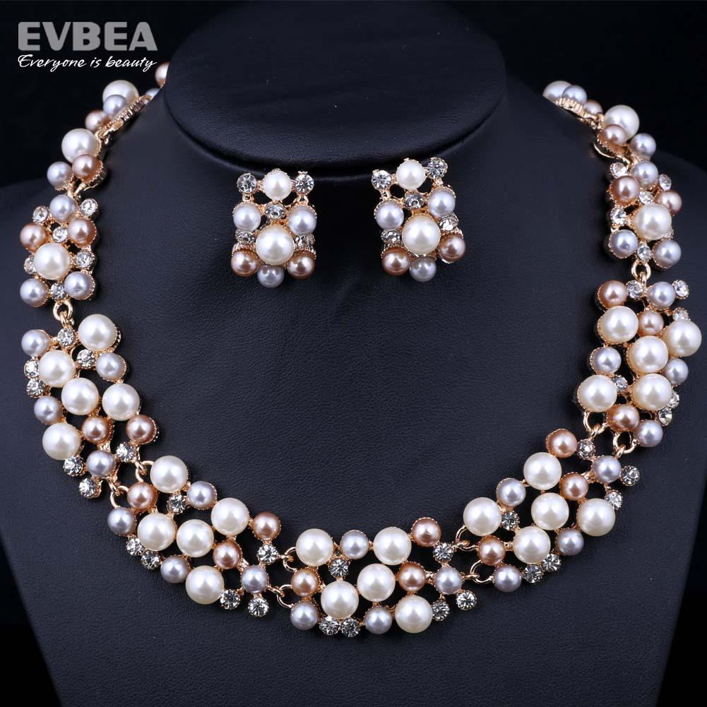 best pearl jewelry set for wedding freshwater pearl