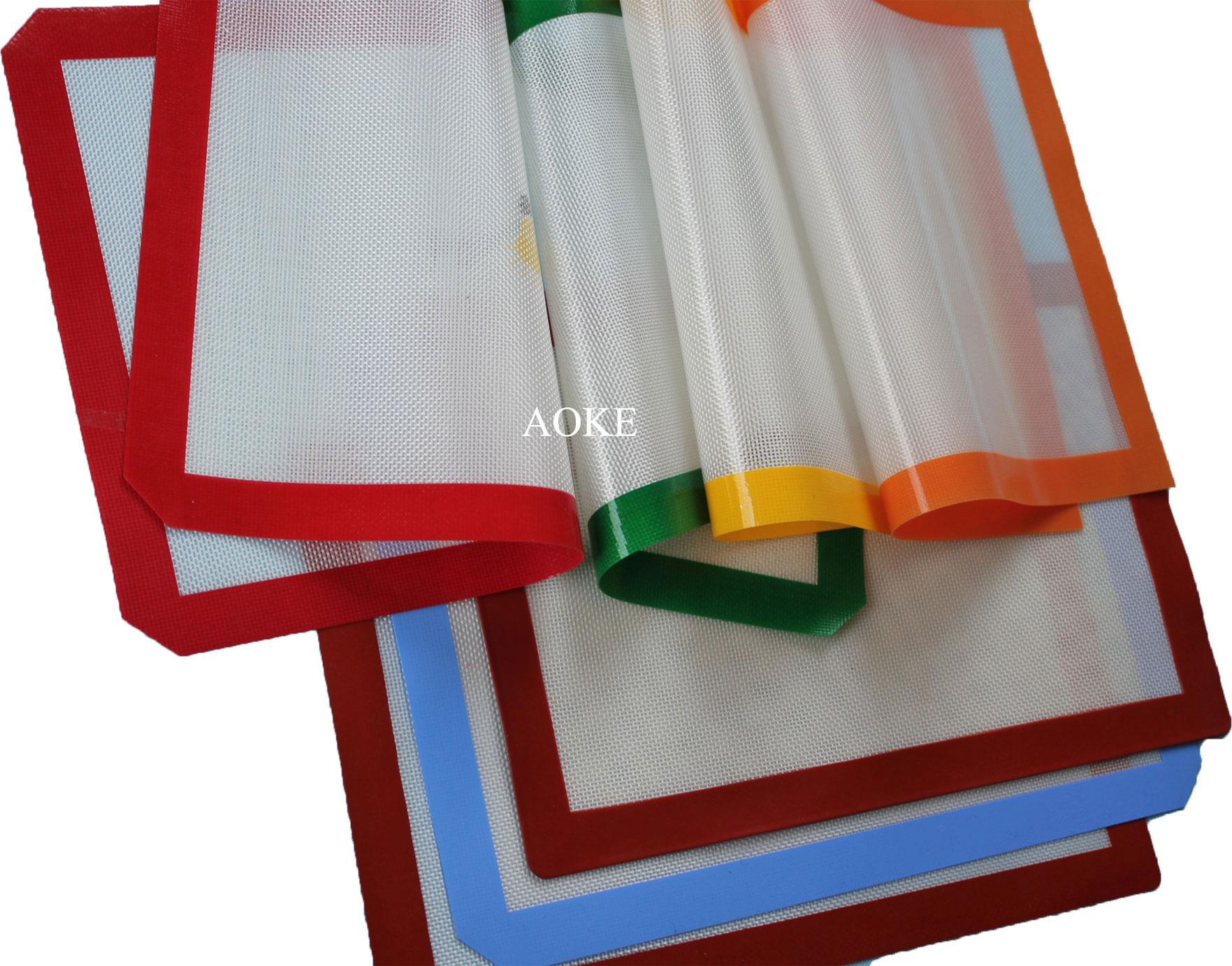 2018 600*400mm Silicone Baking Mat Cooking Liner Reusable For ...