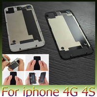 Wholesale 1pcs Brand new high quality Back Glass Battery Cover Back Housing for G S Black White Color