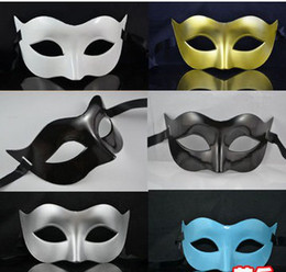 mens mask for masquerade party Australia - Mens Mask Halloween Masquerade Masks Mardi Gras Venetian Dance Party Face The Mask Mixed Color(200 pcs lot)