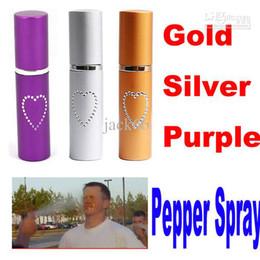 Lipstick Self Canada - Self Defense Lipstick style 20ML PEPPER SPRAY TEAR GAS waman girl self protect tool