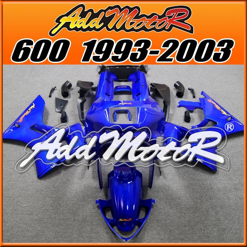 Grosshandel Addmotor Verkleidungen Fur Kawasaki Zzr 600 Zzr600 1993 2003 93 03 Komplettset Blue K6114 5 Gratis Geschenke Von