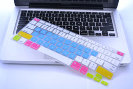 macbook 15 keyboard cover NZ - Multi-colors Silicone Keyboard Protector Cover For MacBook Pro Air Retina 13 15 inch Waterproof Dustproof US Ver. with retail package