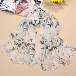 Wholesale Marilyn Scarfs - Spring New Product Scarves Marilyn Monroe Printed Scarf Women Elegant Wrap 10 Pcs Lot 3 Colors