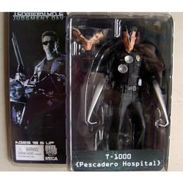 "Wholesale Neca Toys - NECA The Terminator 2 Action Figure T-1000 Pescadero Hospital Figure Toy 7""18cm"