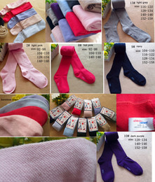 Wholesale Girls Size 12 Tights - Kid Tights Children's Leggings Ten Colors Candy Color Girl Socks Mix Sizes Ages Suitable 4-6 Year 7-12 Year Kid Socks Children's Pantyhose