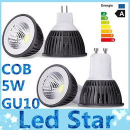 Wholesale Dimmable Led Bulbs 5w - Brand New COB 5W Led bulbs light GU10 E27 E26 MR16 Dimmable led spotlights warm cool white 110-240V 12V + CE ROHS CSA Approved