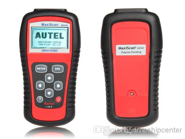 Autel MaxiScan MS509 OBDII / OBD2 EOBD Car Scanner Scanners Auto Code Reader Work for US Asian & European Cars MS 509 Free DHL Shipping
