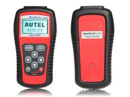 Los lectores trabajan online-Autel MaxiScan MS509 OBDII / OBD2 EOBD Escáneres Del Coche Escáner Auto Código Lector de Trabajo para EE. UU. Asiáticos Europeos Coches MS 509 Envío de DHL Gratuito