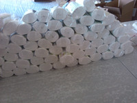ücretsiz bambu gömlekleri toptan satış-2014 Yeni Naughtybaby 20 Rolls Flushable Tek Kullanımlık Bambu bebek Nappy Gömlekleri, 100 sheets / rulo Ücretsiz kargo