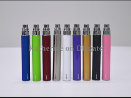 Wholesale Cheap Ego T Batteries - Cheap Ego t Battery 650mah 900mah 1100mah for Electronic Cigarettes E Cigarettes E-cig Kit Various colors