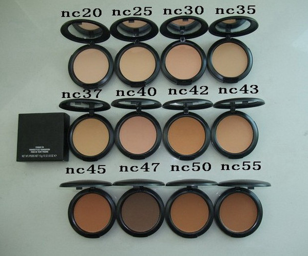 lowest price! HOT NEW makeup high quality nc color FIX Powders puffs 15g! DHL free shipping