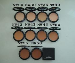 powder wholesale 2019 - free shipping DHL NEW makeup High quality nw STUDIU FIX Powders puffs 15g cheap powder wholesale