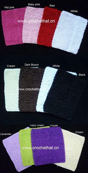 top popular 7.5x9 inches Crochet tube top tutu tops for baby toddler girls pettiskirt tutu dress free shipping 2021