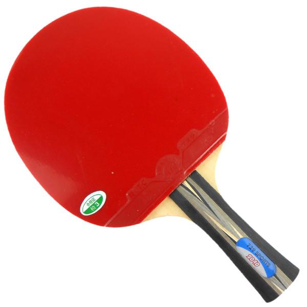 2.0 mm RMCT 729 amitié professionnel de tennis de table caoutchouc noir ITTF ping pong