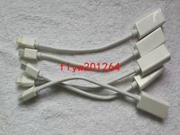 2019 displayport hembra 1pcs / lot Mini DisplayPort DP a HDMI Cable adaptador hembra HK envío gratis displayport hembra baratos