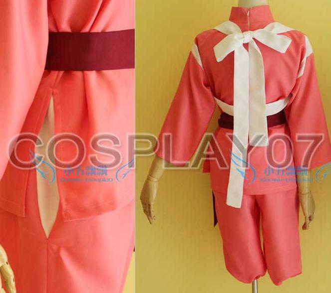 Miyazaki Hayao Spirited Away Chihiro Ogino Sen cosplay costume Custom made any size