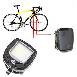 Wholesale Digital Speedometer For Bikes - S5Q Wireless Bike Digital LCD Speedometer Odometer For Ourdoors Mountain Bicycle AAAAEQ