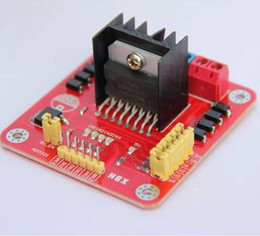 Wholesale Module Driver Motor - Wholesale - Arduino L298N DC stepper Motor dual drive module Free shipping #BV075 @CF