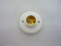 cfl halogenfassung großhandel-MOQ10 E27 Schraubentyp Sockel Lampenfassung Sockel für Lampenscheinwerfer CFL Halogen Beleuchtung 220 V Runde Kostenloser Versand Drop Ship