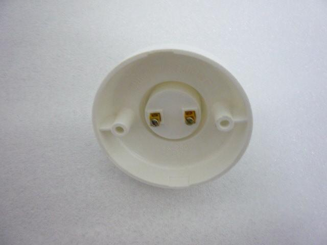 MOQ60 E27ホルダーソケットスクリュータイプベースランププラスチックソケットフィッティング用電球スポットライトCFLハロゲン照明ラウンド220V  -  EXPRESS