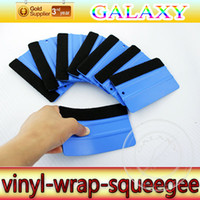 Wholesale Car Window Tint Wholesale - Free Shipping High Quality pp Car Wrapping Tools Vinyl Squeegee Tools For Car Window Tint scraper tools