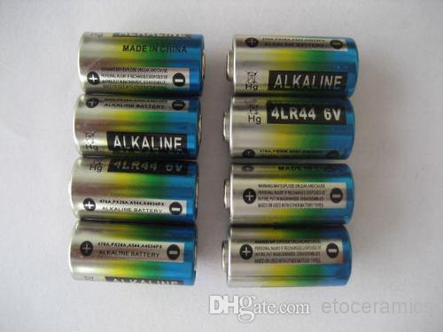4LR44 6V Alkaline battery, Fresh Batteries, dog collar batteries Automatic Bark Control battery Beauty Pen cell