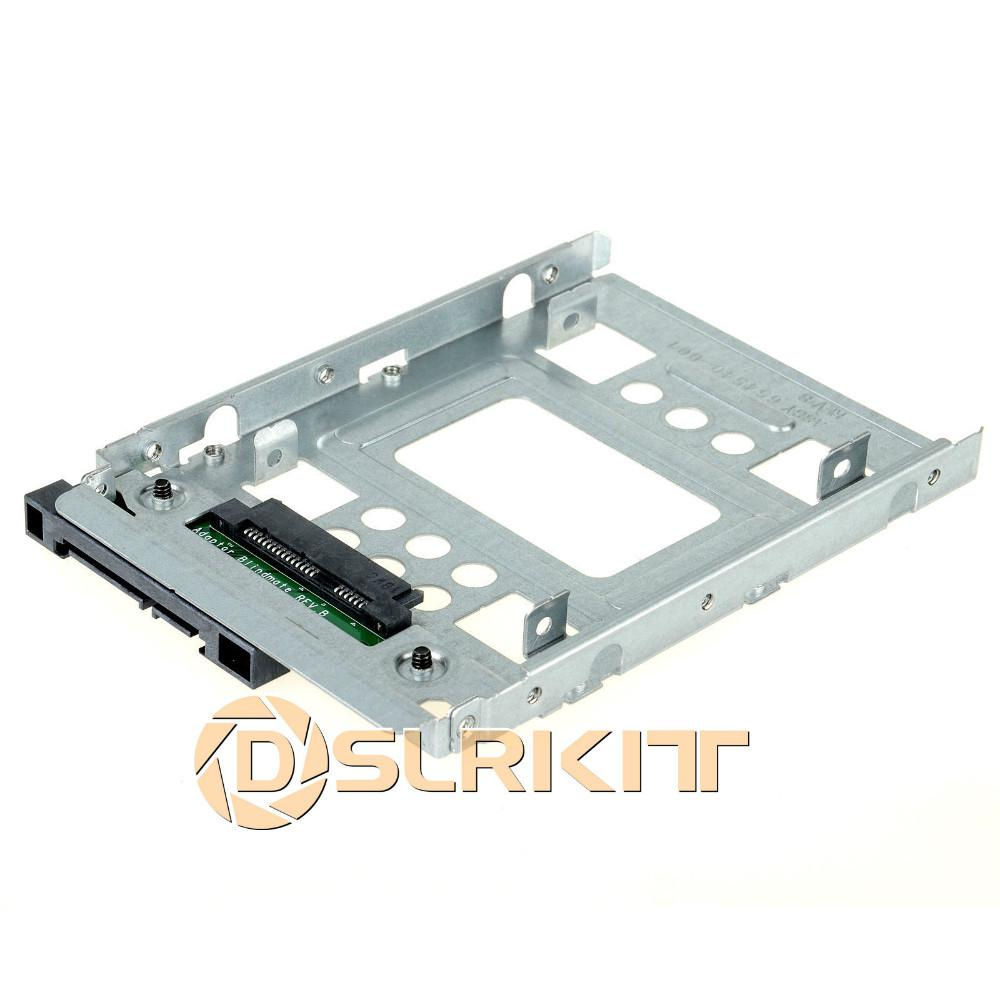 Best 2.5 Ssd To 3.5 Sata Hard Disk Drive Hdd Adapter Caddy Tray Cage ...
