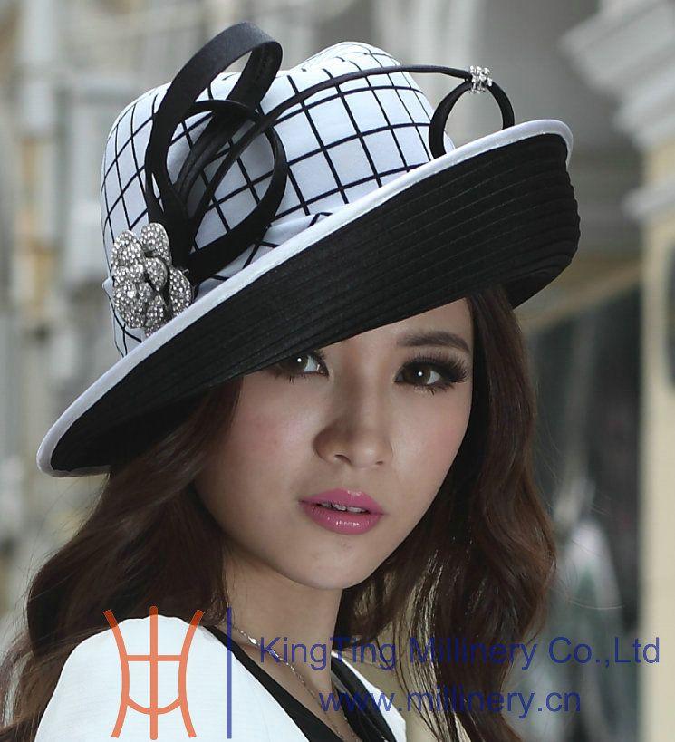 Women Church Hat Women Winter Hats Ladies  Polyester Hat Satin Dress Hat  Brim Up Design Bow Winter Stylish New FREE EMS SHIPPING Winter Hats Hats  For Men ... da7f5553b7d