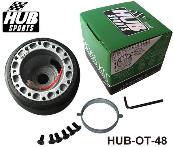 TANSKY - HUBsport Oto Direksiyon Quick Release Hub Boss Adaptör Kiti Modu OT-48 (T-17) IÇIN Toyota HUB-OT-48
