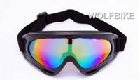 manyetik tırmanma toptan satış-Hotsell WOLFBIKE UV400 Gözlük Kar Araci Motosiklet Kayak Gözlük Gözlük Koruyucu Gözlük Lens Açık spor Kar Sporları Snowboard Sürme