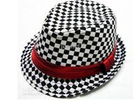 Wholesale Girls Jazz Hats - Fashion baby children's jazz cap hat girl boy spring summer Straw sun caps hats