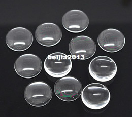 Clear sCrapbook online shopping - Clear Round Glass Dome Seals mm Cabochon Scrapbook