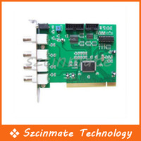 4 Channel CH DVR PCI Card Video Security F Câmera CCTV Atacado