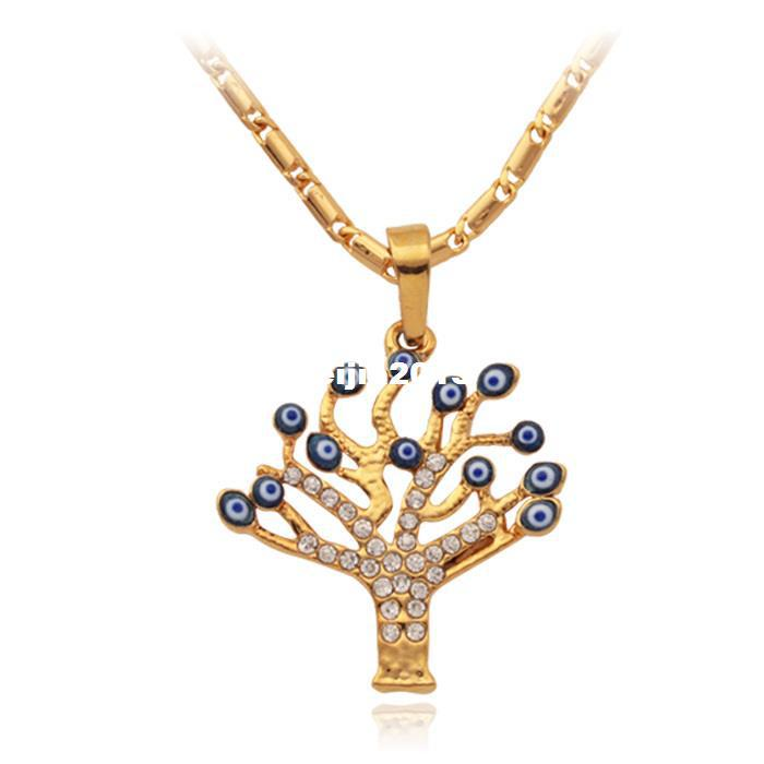 2018 new unique evil eye tree pendants 18k real gold plated 2018 new unique evil eye tree pendants 18k real gold plated rhinestone women choker necklaces amp pendants jewelry n353 from beijia2013 1555 dhgate aloadofball Choice Image