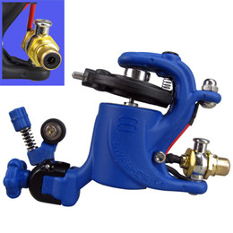 Wholesale Tattoo Machines Dragonfly Style Rotary - solong tattoo blue Rotary Tattoo Machine Gun Swashdrive Gen 8 Dragonfly Style 10 Watt Strong Motor M628-8