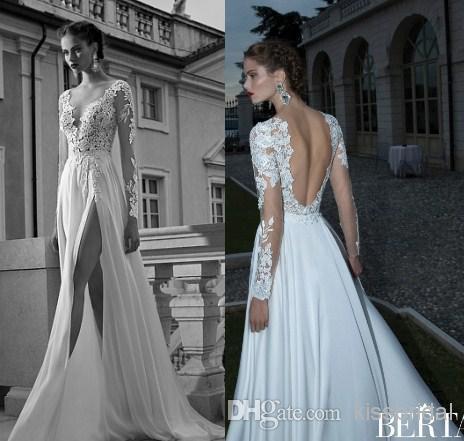 White lace dress long a-line
