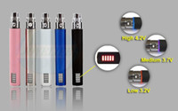 Wholesale E Cigarette Battery Ego Led - eGo VV battery 650mah 900mah 1100mah Variable Voltage LED battery for ego Electronic Cigarette Kits E cigarette Kit Various Colors DHL Free