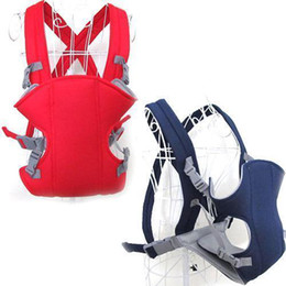 Wholesale Baby Sling Back - S5Q Front & Back Baby Infant Carrier Backpack Sling Newborn Pouch Wrap 2-30 Months AAABOC