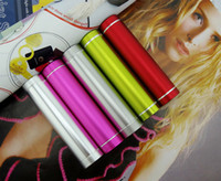 Wholesale Emergency Smartphone Charger - 2600 mAh Portable Power Banks External Emergency Backup Battery USB Universal Chargers For Mobile Smartphone S7 S8 200pcs mix color