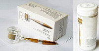 Wholesale best skin tools resale online - Best sale ZGTS derma roller titanium needles Titanium alloy needle derma roller beauty tools roller for skin beauty
