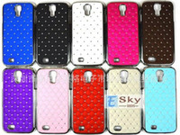 Wholesale Star Galaxy S3 - Bling Diamond star hard Metal silicone skin Case Samsung Galaxy S3 I9300 S4 I9500 note 3 10pcs lot free shipping