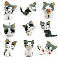 Wholesale Dust Plugs Cartoon - cute cartoon cheese cat anti 3.5mm dust plugy ear caps plug for iphone 4g 4s