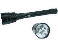 Wholesale Trustfire Wholesale - trustfire 3T6 Flashlight 3* CREE XM-L XML T6 LED 5 Mode 3800 Lumens Flashlight Extendable Ultra Bright Torch + Extended Tube