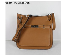 Wholesale Best Leather Travel Bags - Designer leather shoulder bags Women casual travel bags 32x28x16cm whole cowhide Super AAA Best prices fast free shipping
