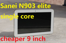 Wholesale Dual Core A13 - DHL freeshiping single core Sanei N903 elite 9 inch capacitive Android 4.2 Allwinner A13 Tablet PC dual camera