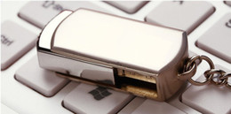 Usb key flash 256gb en Ligne-DHL Livraison Gratuite 128GB 256GB 64GB Mémoire Pivotante Clé USB De Stockage De Stockage USB 2.0 Ton Argent Porte-clés OEM LOGO Personnalisé Expédition 1 Jour